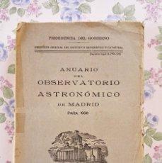 Libros de segunda mano: 1960 ANUARIO ASTRONOMICO MADRID GEOGRAFÍA ASTRONOMÍA. Lote 54954892