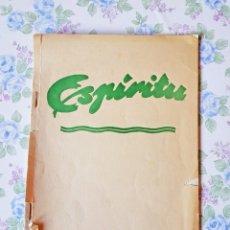 Libros de segunda mano: 1961 ARTÍCULO DUE ROJO REVISTA ESPIRITU Nº 10. Lote 53400020