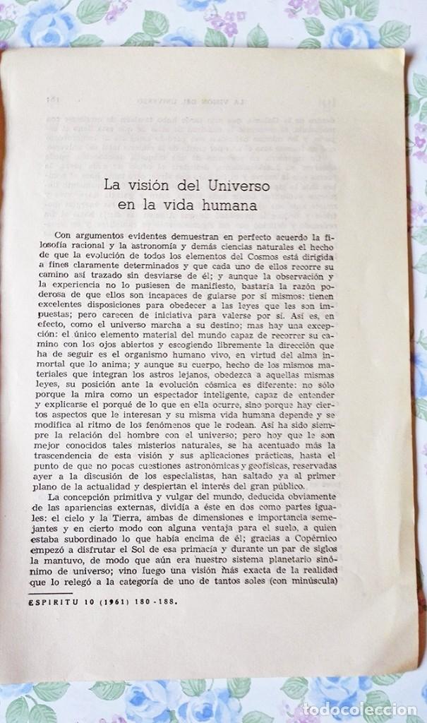 Libros de segunda mano: 1961 artículo Due Rojo revista espiritu nº 10 - Foto 2 - 53400020
