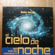 Libros de segunda mano: EL CIELO DE NOCHE, UNA GUIA DEL FIRMAMENTO, ROBIN KERROD, CIRCULO DE LECTORES. Lote 124575639