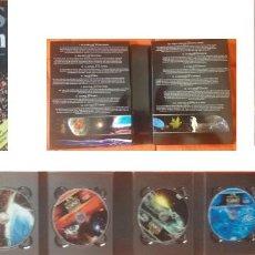 Libros de segunda mano: COSMOS - CARL SAGAN – LIBRO MAS PACK DE 7 DVDS . Lote 126271643