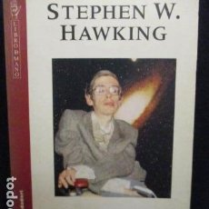 Libros de segunda mano: HISTORIA DEL TIEMPO - STEPHEN W. HAWKING - DEL BIG BANG A LOS AGUJEROS NEGROS.. Lote 129118703