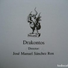 Libros de segunda mano: BIOGRAFÍA DEL UNIVERSO -DRAKONTOS. Lote 130402542