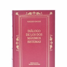 Libros de segunda mano: DIÁLOGO DE LOS DOS MÁXIMOS SISTEMAS - GALILEI, GALILEO. Lote 132296135