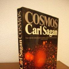 Libros de segunda mano: CARL SAGAN: COSMOS (PLANETA, 1982) PRIMERA EDICIÓN. Lote 143376789