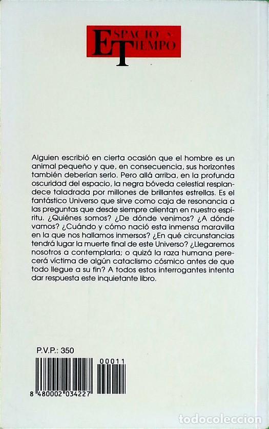 Libros de segunda mano: Principio y fin del universo - Abelardo Hernández - Foto 2 - 138595766