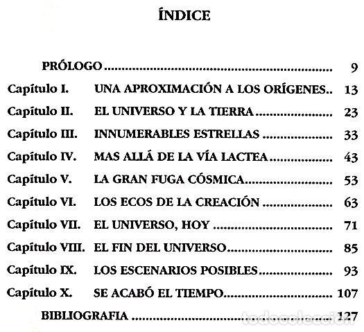 Libros de segunda mano: Principio y fin del universo - Abelardo Hernández - Foto 3 - 138595766