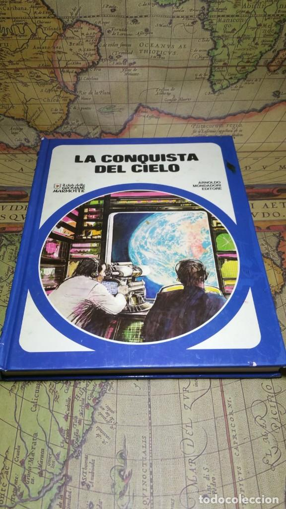 LA CONQUISTA DEL CIELO. ARNOLDO MONDADORI EDITORE 1976. EN ITALIANO. (Libros de Segunda Mano - Ciencias, Manuales y Oficios - Astronomía)