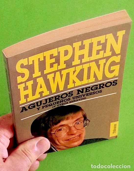 Libros de segunda mano: Agujeros negros y pequeños universos - Stephen Hawking - Foto 4 - 141332862