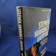 Libros de segunda mano: STEPHEN HAWKING´S UNIVERSE. THE COSMOS EXPLAINED. DAVID FILKIN. EL COSMOS EXPLICADO. TEXTO EN INGLÉS. Lote 142136118
