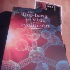 Libros de segunda mano: DEL BIG BANG A LA VIDA Y SU EVOLUCION A. AGUIRRE DE CÁRCER CENTRO DE ASTROBIOLOGIA 2004 79PP RÚS. Lote 144992866
