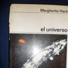 Libros de segunda mano: EL UNIVERSO. MARGHERITA HACK. LABOR. Lote 145106686