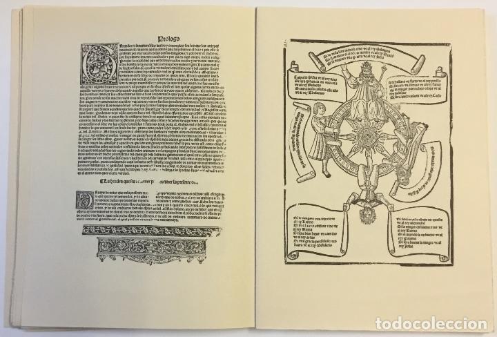 Libros de segunda mano: LIBRO DEL JUEGO DE LAS SUERTES (VALENCIA, 1515). - [Facsímil.] - Foto 5 - 123265666