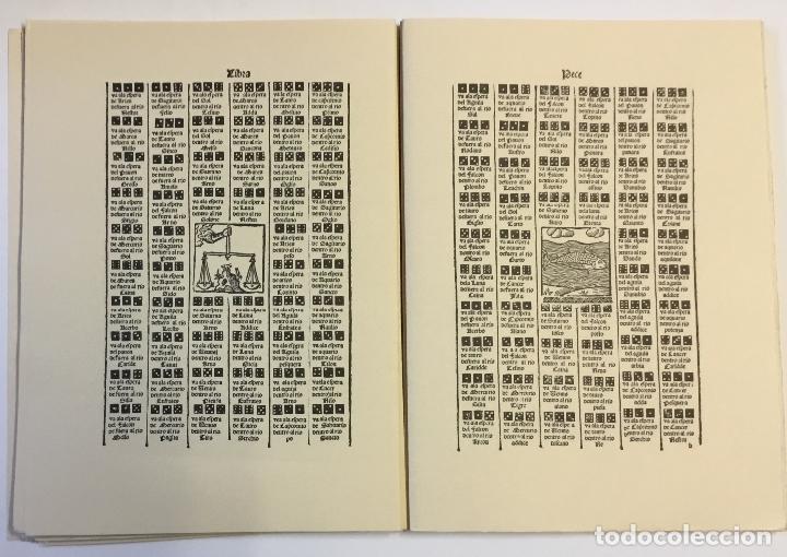 Libros de segunda mano: LIBRO DEL JUEGO DE LAS SUERTES (VALENCIA, 1515). - [Facsímil.] - Foto 6 - 123265666