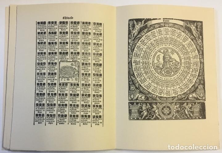 Libros de segunda mano: LIBRO DEL JUEGO DE LAS SUERTES (VALENCIA, 1515). - [Facsímil.] - Foto 7 - 123265666