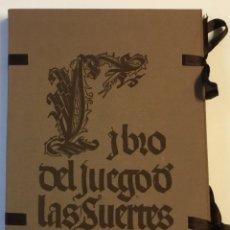 Libros de segunda mano: LIBRO DEL JUEGO DE LAS SUERTES (VALENCIA, 1515). - [FACSÍMIL.]. Lote 123265666