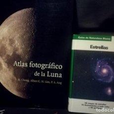 Libros de segunda mano: ATLAS FOTOGRAFICO DE LA LUNA + ESTRELLAS . Lote 151435462