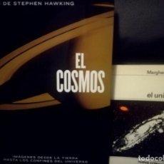 Libros de segunda mano: EL COSMOS + EL UNIVERSO. Lote 151437286
