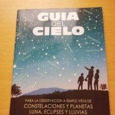 Livres d'occasion: GUÍA DEL CIELO PARA LA OBSERVACIÓN A SIMPLE VISTA DE CONSTELACIONES Y PLANETAS (2007). Lote 155313894