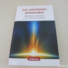 Libros de segunda mano: ASTRONOMIA UN PASEO POR EL COSMOS LAS CONSTANTES UNIVERSALES. Lote 155446066