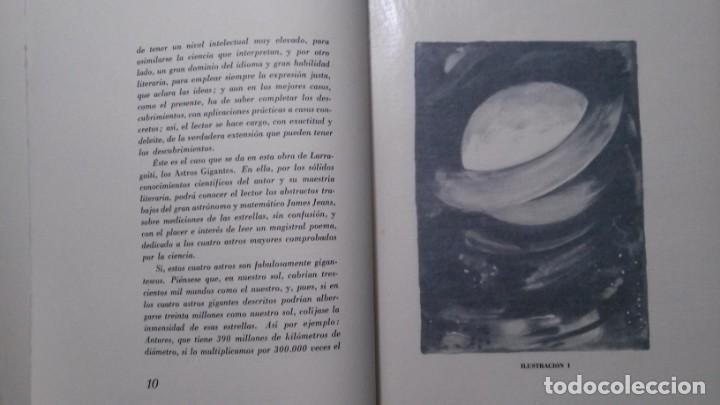 Libros de segunda mano: ASTROS GIGANTES-A.. S. DE LARRAGOITI-PREFACIO DE CARLOS BARADAT-ILUSTRACIONES :TEODORO DELGADO-1961 - Foto 6 - 155515746