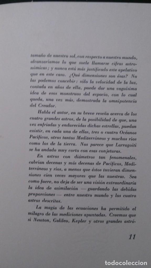 Libros de segunda mano: ASTROS GIGANTES-A.. S. DE LARRAGOITI-PREFACIO DE CARLOS BARADAT-ILUSTRACIONES :TEODORO DELGADO-1961 - Foto 8 - 155515746