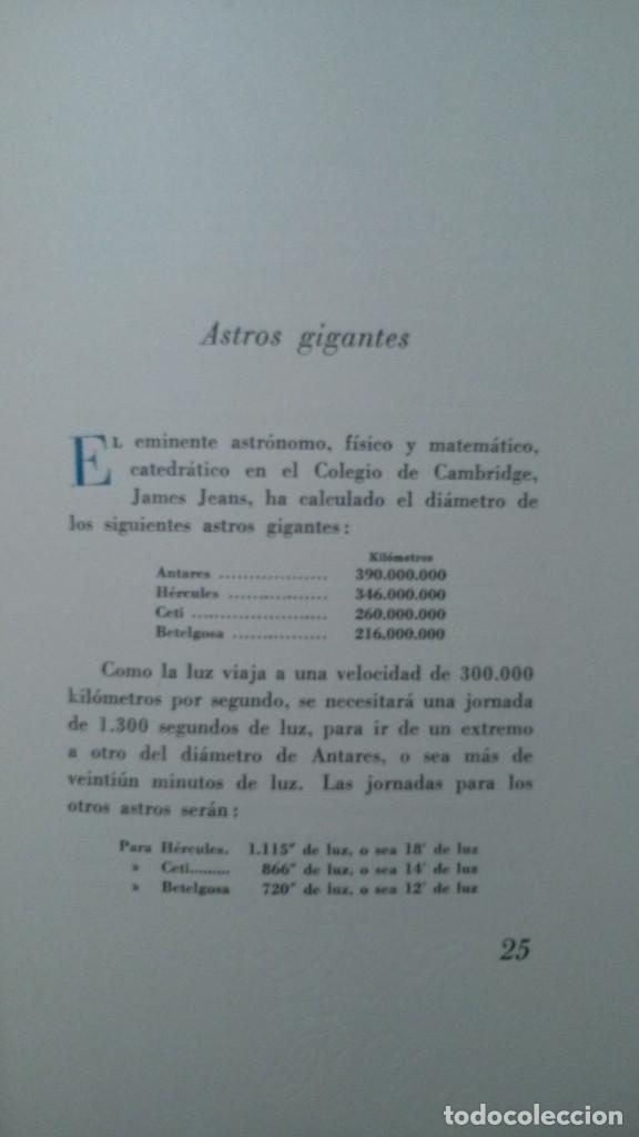 Libros de segunda mano: ASTROS GIGANTES-A.. S. DE LARRAGOITI-PREFACIO DE CARLOS BARADAT-ILUSTRACIONES :TEODORO DELGADO-1961 - Foto 12 - 155515746