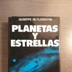 Libros de segunda mano: PLANETAS Y ESTRELLAS. MANUAL DE ASTRONOMIA MODERNA.. Lote 155517602