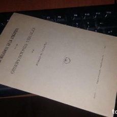 Libros de segunda mano: LA INFLUENCIA DE LA ATMOSFERA EN LAS OBSERVACIONES VISUALES POR ENRIQUE GULLON. Lote 156702506