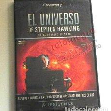 Libros de segunda mano: DVD DOCUMENTAL EL UNIVERSO DE STEPHEN HAWKING ALIENÍGENAS CIENCIA EXOBIOLOGÍA VIDA EXTRAT. -NO LIBRO. Lote 159125574