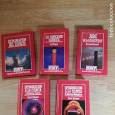 Libros de segunda mano: 5 LIBROS DE CIENCIA Y ASTRONOMÍA DE LA COLECCIÓN MUY INTERESANTE.. Lote 158675182
