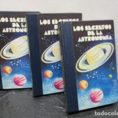 Libros de segunda mano: LOS SECRETOS DE LA ASTRONOMÍA; OBRA COMPLETA EN 3 TOMOS. - EXCELENTE ESTADO. Lote 159736094