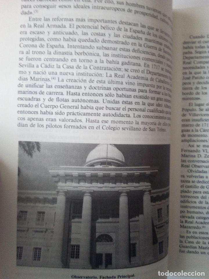 Libros de segunda mano: -EL REAL OBSERVATORIO ASTRONIMICO DE SAN FERNANDO (1769-1869) -200 PAG-1989- - Foto 4 - 160125842
