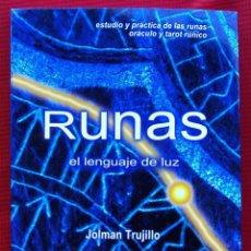Libros de segunda mano: RUNAS EL LENGUAJE DE LUZ. AÑO: 2008. HITLER. III REICH. WAFFEN. SS. BUEN ESTADO.. Lote 165294038
