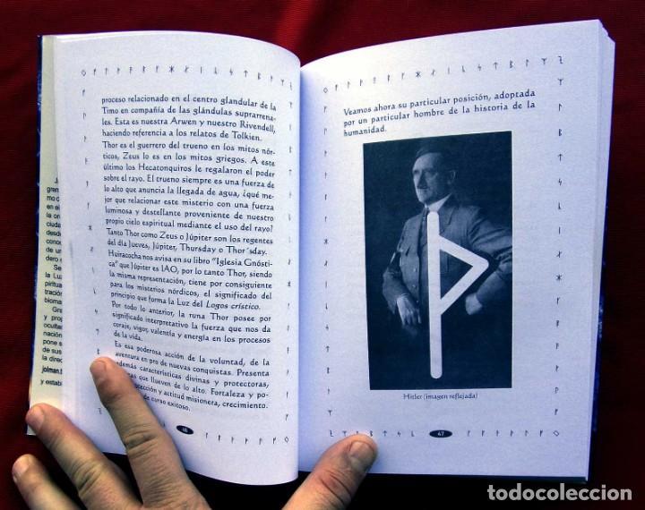 Libros de segunda mano: RUNAS EL LENGUAJE DE LUZ. AÑO: 2008. HITLER. III REICH. WAFFEN. SS. BUEN ESTADO. - Foto 2 - 165294038