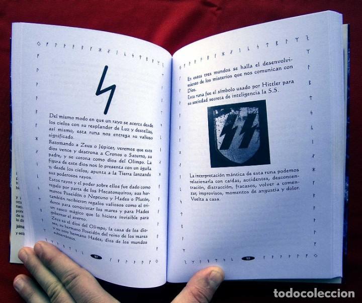 Libros de segunda mano: RUNAS EL LENGUAJE DE LUZ. AÑO: 2008. HITLER. III REICH. WAFFEN. SS. BUEN ESTADO. - Foto 3 - 165294038