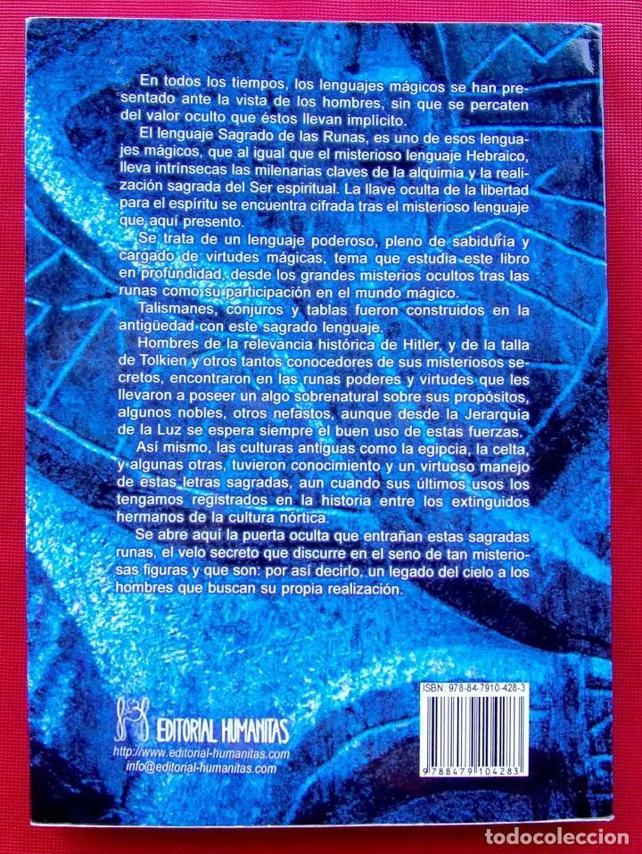 Libros de segunda mano: RUNAS EL LENGUAJE DE LUZ. AÑO: 2008. HITLER. III REICH. WAFFEN. SS. BUEN ESTADO. - Foto 5 - 165294038