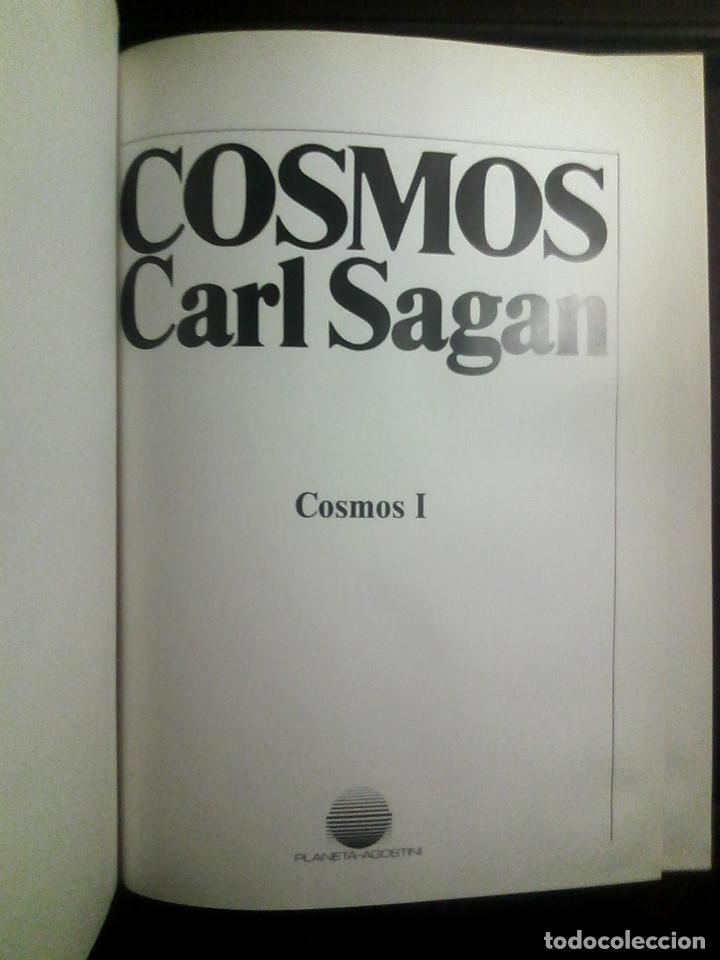 Libros de segunda mano: Carl Sagan, enciclopedia Cosmos completa Planeta-Agostini (1987), en perfecto estado / UNIVERSO / - Foto 5 - 165679910