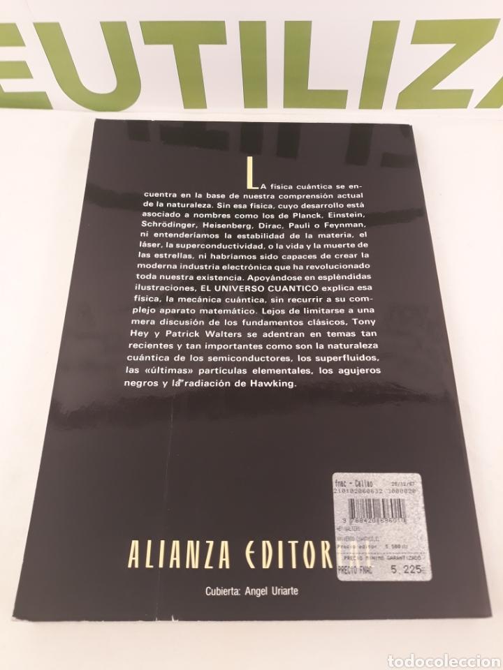Libros de segunda mano: El universo cuantico.Tony Hey.Patrick Walters Alianza Editorial. - Foto 6 - 166542425