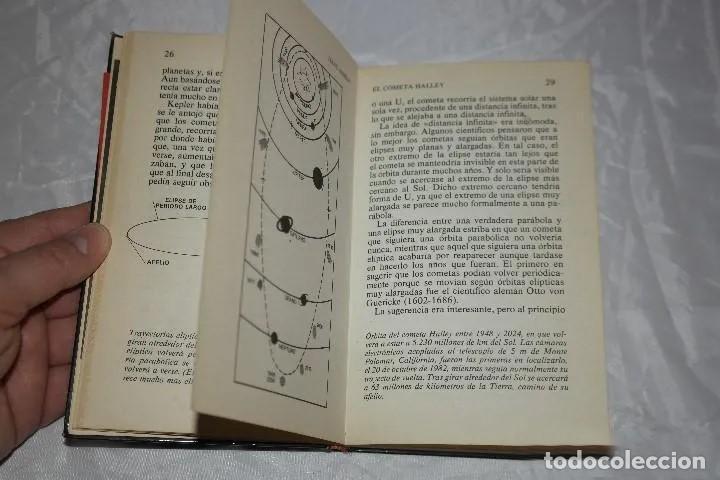 Libros de segunda mano: ISAAC ASIMOV EL COMETA HALLEY1985 - Foto 4 - 167742756