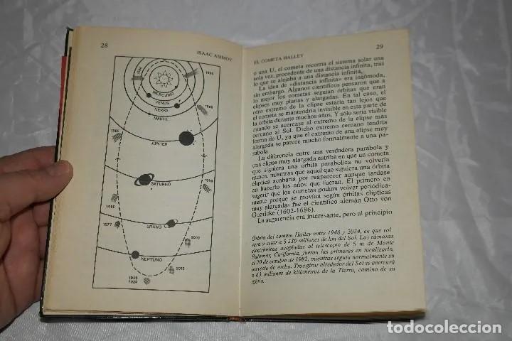 Libros de segunda mano: ISAAC ASIMOV EL COMETA HALLEY1985 - Foto 5 - 167742756