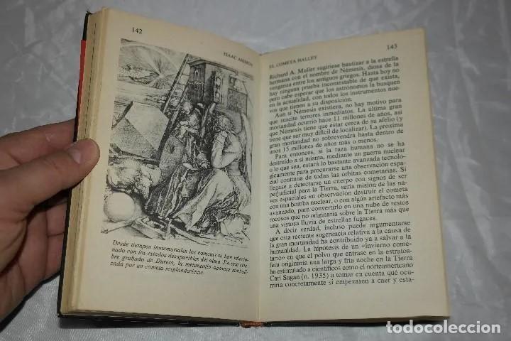 Libros de segunda mano: ISAAC ASIMOV EL COMETA HALLEY1985 - Foto 6 - 167742756