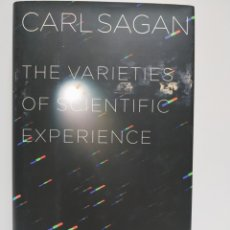 Libros de segunda mano: THE VARIETIES OF SCIENTIFIC EXPERIENCE - SAGAN, CARL. Lote 168588329