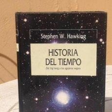 Libros de segunda mano: STEPHEN HAWKING: HISTORIA DEL TIEMPO. Lote 169053552