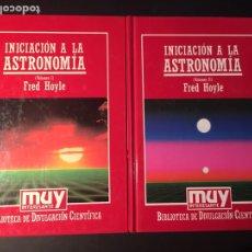 Libros de segunda mano: INICIACIÓN A LA ASTRONOMÍA, 2 VOLS. , F. HOYLE. Lote 171594153