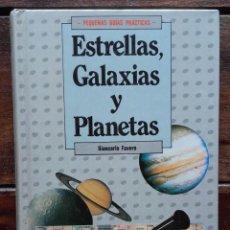 Libros de segunda mano: GALAXIAS, ESTRELLAS Y PLANETAS, GIANCARLO FAVERO. Lote 171698219