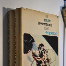 Libros de segunda mano: BAS2 - LA GRAN AVENTURA DEL ESPACIO, DOS TOMOS. Lote 171822778