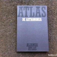 Libros de segunda mano: JOACHIM HERRMANN. ATLAS DE ASTRONOMÍA. ED. ALIANZA, 1984. Lote 172068997