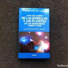Libros de segunda mano: DONALD MENZEL Y JAY PASACHOFF. GUÍA DE CAMPO DE LAS ESTRELLAS Y LOS PLANETAS DE LOS HEMISFERIOS..... Lote 172070087