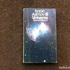 Libros de segunda mano: ISAAC ASIMOV. EL UNIVERSO. ED. ALIANZA, 1984. Lote 172070590